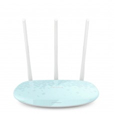 TP LINK Wireless WiFi Router 450Mbps WiFi Repeater 3 Antenna Wi-Fi Network WR886N Light Blue
