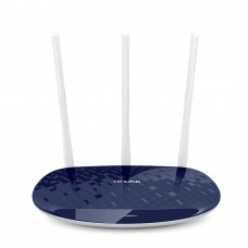 TP LINK Wireless WiFi Router 450Mbps WiFi Repeater 3 Antenna Wi-Fi Network WR886N Blue