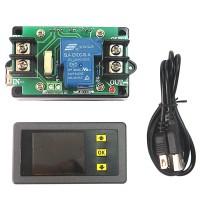 Digital LED Multimeter Monitor Voltage Current Capacity Power Meter Ammeter Voltmeter VAC1030A