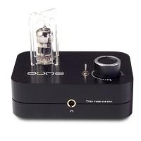 T1se 24BIT DSD USB Decoder DAC HIFI Headphone Amplifier Electron Tube for Audio Black