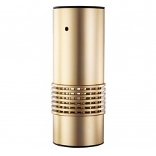 Smart Car Air Purifier Cleaner Formaldehyde Smell Removal PM2.5 Oxygen Bar Gold