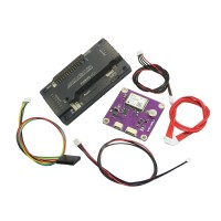 Top Pin APM2.8 ArduPilot Mega 2.8 External Compass APM Flight Controller w/ CJMCU-108 UBLOX NEO-6M GPS for Multicopter