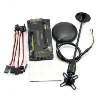 APM V2.8.0 Flight Controller No Compass with Ublox NEO-7M GPS & Holder for FPV Quadcopter Mulicopter