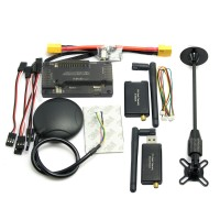 APM2.8 ArduPilot APM Flight Controller without Compass+ Ublox M8N GPS + 3DR Telemetry + XT60 Powerfor FPV Multicopter