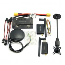 APM2.6 ArduPilot APM Flight Controller + Ublox M8N GPS + 3DR Telemetry + XT60 Power Module for FPV Multicopter