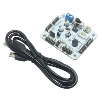 32 Channel Servo Controller Control Board Support PS2 Handle for Robot Mechanical Arm