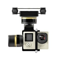 3-Axis Gimbal Camera Stabilizer Brushless PTZ for Gopro Hero 3 3+ 4 RC FPV Aerial Photograrhy FeiYu Mini 3D PRO