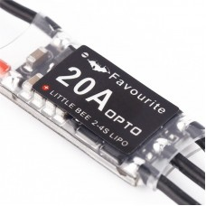 FPV TZT 20A PRO 2-4S BL HELI ESC VS Little Bee Oneshort 125 C8051F396 50M for 250 Quadcopter