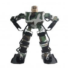 Soldier King 16DOF Smart Humanoid Robot Frame Contest Dance Biped Robotics w/Servo for DIY Unassembled