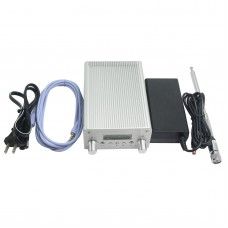 FM Transmitter Broadcast Radio Station DC12V 76-108MHz + Power Supply for Car NIO-6A