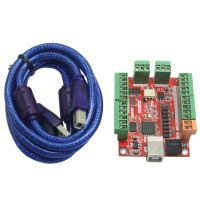 TC50M 50KHz CNC USB MACH3 Motion Control Board Driver 6 Axis
