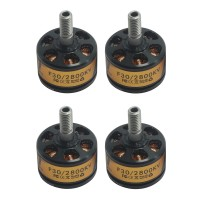 T-MOTOR F30 2800KV Brushless Motor for FPV Quadcopter Drone Multicopter 12N14P 4Pcs