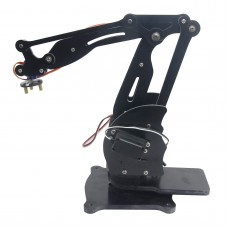 4DOF Mechanical Robot Arm Clamp Claw Manipulator Arm with Servo for Arduino DIY Assembled