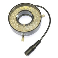 40 Beads LED Microscope Ring Light Lamp Brightness Adjustable Inner Diameter 24mm