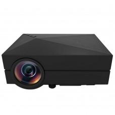 GM60 Projector 1000LM 3D LED Projector 800x480 AV USB2.0 HDMI VGA SD Mini Home Video Multimedia Player TV Beamer