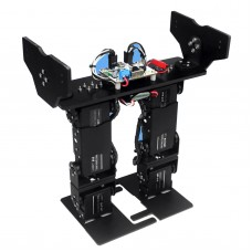 LS-6B 6DOF Walking Biped Robot Cross Foot with Servo for Competition Robotics DIY