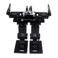 6DOF Walking Biped Robot Narrow Foot with Servo for Competition Robotics DIY
