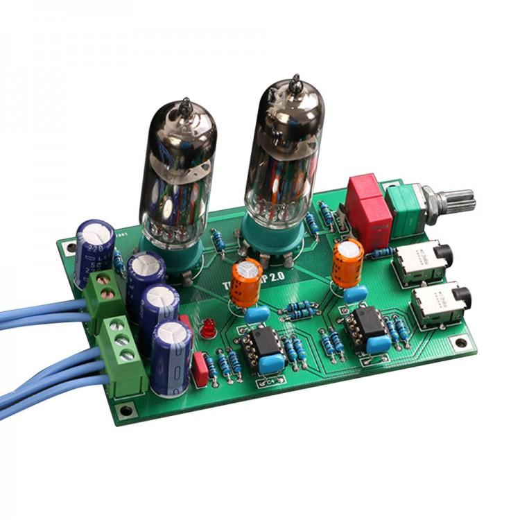 Class A 6J5 Vacuum Tube Pre-Amp Preamp HiFi Headphone