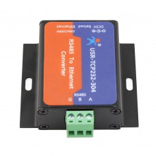 RS485 to Ethernet Converter 10/100MHz Serial Server TCP IP ARM Processor USR TCP232-304