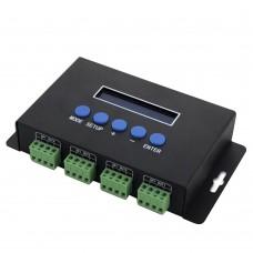 BC-204 DC5V-24V 4 Channels Ethernet to SPI DMX Pixel Light Controller ARTNET to SPI