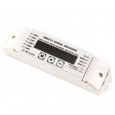 BC-820 DMX512 to SPI Signal Converter Decoder DC5V-24V for LED Lamp Light
