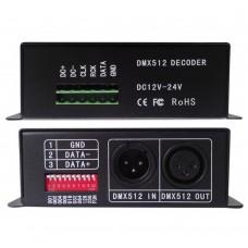 BC-802-1809 DMX512 Signal Decoder Controller DC5V-24V Input  for LED Lamp Light