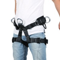 XINDA Climbing Mountain Rock Caving Rescue Safety Belt Polyester Bust Harness Rappelling Safety Belt