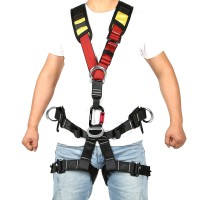 XINDA Rock Climbing High Altitude Work Full Body Safety Belt Harnesses Anti Fall Protective Gear