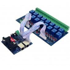 DMX RELAY 16 Channels LED Light Strip Controller Decoder Dimmer for LED Lamp