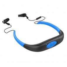 Waterproof MP3 Bluetooth Sport Music Headphone Headset Music Player 4G