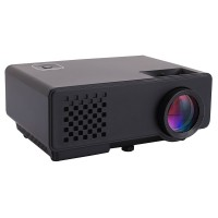 RD-810 Mini LCD Projector Home Theater HD Video Multimedia Player Beamer 1080P Black