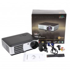 RD-806 LED Projector Home Theater HD 2800Lumens Support TV Video Games Cinema 1080P Movie