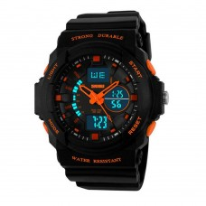 Skmei Men Sport Digital Watch LED Jelly Military Male Clock Wristwatch 50M Waterproof Student Watch