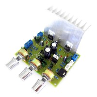 LM1875T Stereo Power Amplifier Board 2.0 Dual Channel HIFI 30W+30W with Tone Board