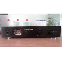 XiangSheng 728A Vacuum Tube Preamplifier HIFI EXQUIS 12AT7 12AU7 6Z4 Black