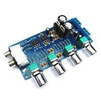 NE5532 HIFI Preamplifier Front Tone Board 2.0 Dual Chanel for Audio Amplifier
