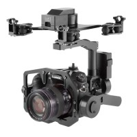3 Axis Gimbal PTZ ALEX 32bit Control FPV Aerial Photography for DSLR Camera A7R2 NEX5 A5100 6000 A7S