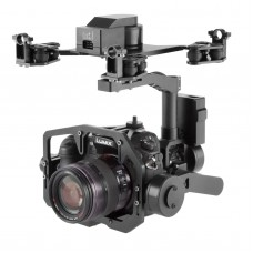 3 Axis Gimbal PTZ ALEX 32bit Control FPV Aerial Photography for DSLR Camera A7R2 NEX5 A5100 6000 A7S