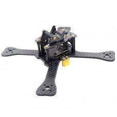 "GEPRC GEP-TX5 Chimp Carbon Fiber FPV Quadcopter Frame 5"" 210mm 4 Axis w/ Gopro Mount"