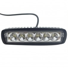 Car LED Work Light Off Road Light Lamp Fog Driving Bar 18W for SUV Car Truck Trailer Tractor