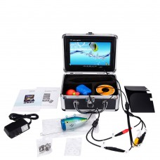 """HD 7"""" LCD 1000TVL Underwater Video Camera Fishing Finder 50M for Monitoring Underwater Exploration WF01-50"""