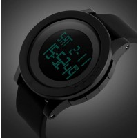 SKMEI Watch Men Military Digital Sports Watch Clock Fashion Silicone Waterproof LED