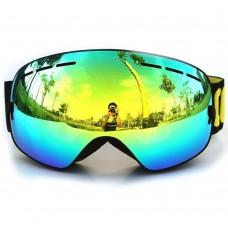 COPOZZ Goggles Anti-Fog Ski Mask Glasses for Men Women Snow Snowboard GOG-201