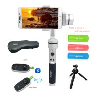 AIbird Uoplay 3 Axis Handheld Smartphone Steady Gimbal Stabilizer w/ Remote Controller Tripod Handle for Phone&GoPro Hero Camera