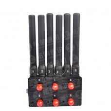 6 Channel Signal Isolator Jammer Car Location WiFi Interference Shielding TL-S4-01