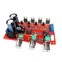 LM1875T 2.1 3 Channel Subwoofer Power Amplifier Board Compatible w/ TDA2030A Unassembled