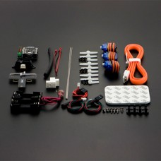 DFRobot DIY Insectbot Mini Robot Development Kit Hexapod Beetle Compatible w/ Bluetooth 4.0 Arduino