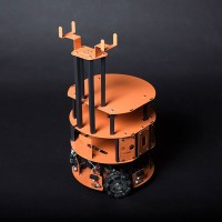 Omnidirectional HCR Home Care Robot Mobile Platform Omni Wheel for Arduino DIY DFRobot
