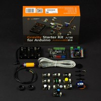 DFRobot Gravity Starter Kit UNO R3 + IO Expansion Shield + Sensors for Arduino DFRduino