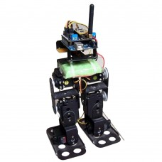 Biped Walking Robot Humanoid Robotics Kit with DF15MG Servo for DIY Arduino